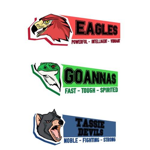 Other Team Sports: Sports Team Mascot Design