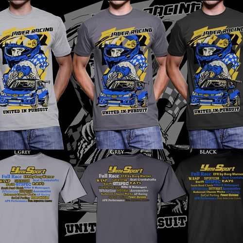 Cool Design for Auto Racing Tee Needed | T-shirt contest