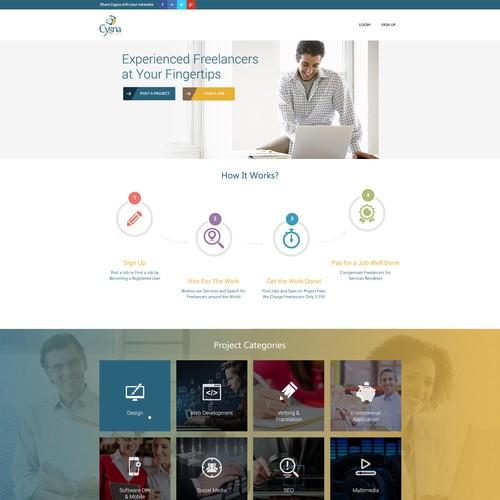 Diseño finalista de Webnomica