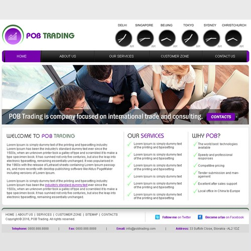 System trading corporation website