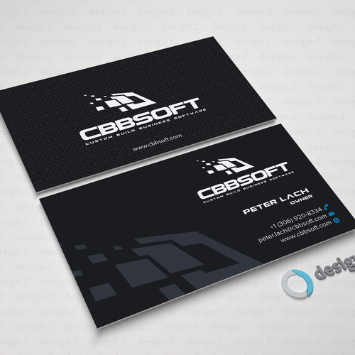 Create A Business Card Design For Software Development Company Business Card Contest 99designs
