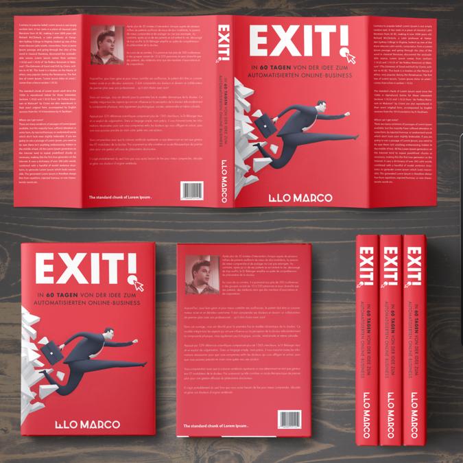 Buchcover design f r business buch buchcover wettbewerb for Buch design