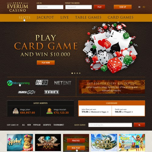 Casino Website Development