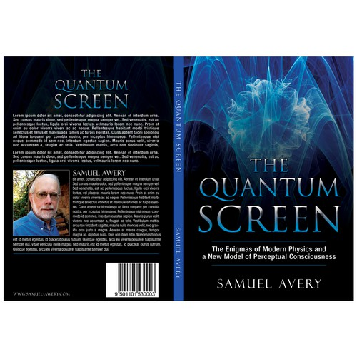 Book Cover: Quantum Physics & Consciousenss Design by devstudio