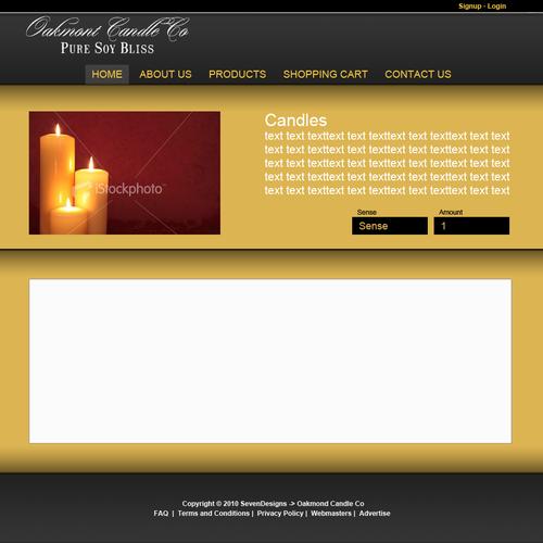 Design finalista por sevendesigns