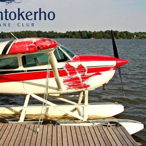 Modern logo for seaplane flying club Design by pinac dizajn