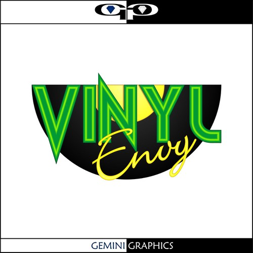 Runner-up design by Gemini Graphics