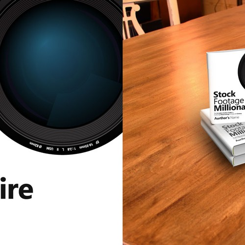 "Eye-Popping Book Cover for ""Stock Footage Millionaire"" Design by Vasanth Design"