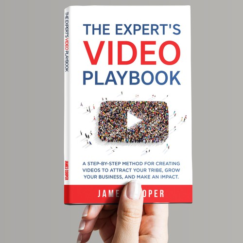 Book E Book For A How To Video Creation Book For Experts And Consultants Book Cover Contest 99designs
