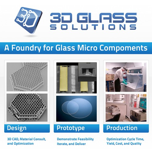 3D Glass Solutions Booth Graphic Design by Sachin Mendhekar