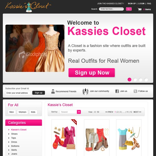 Runner-up design by Keysoft