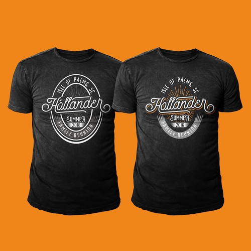 Create A Design For Our Family Reunion Tshirts And Hats