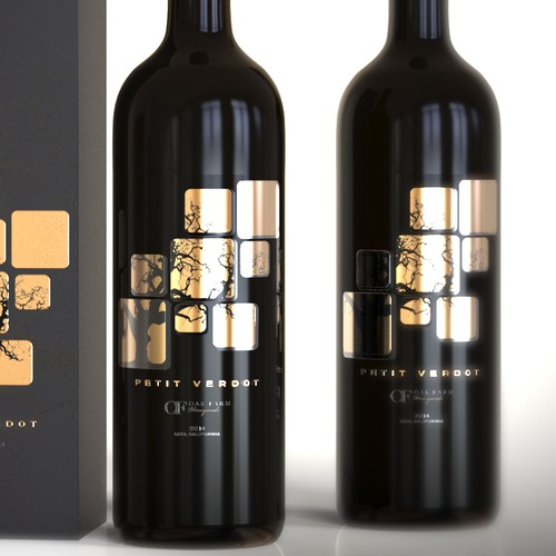 Design a new wine label for our new California red wine... Design by Esteban Tolosa