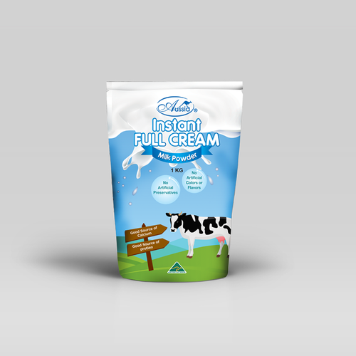 milk powder package product packaging contest