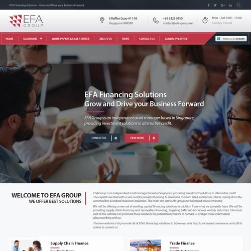 Design finalista por Webmantratech