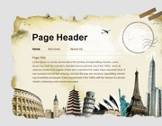 Web page design by Yuv