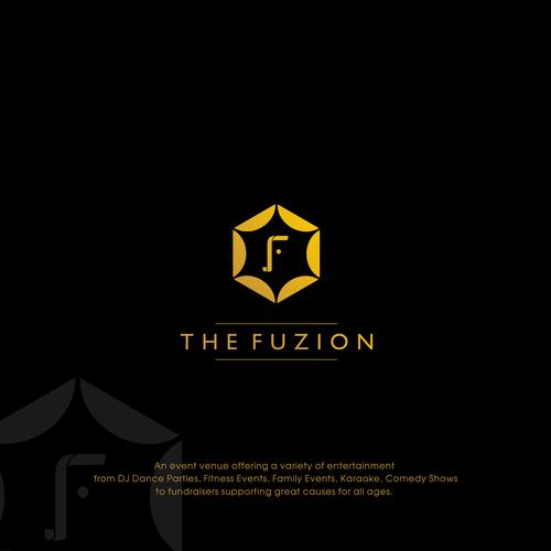 new exciting event venue modern logo design logo