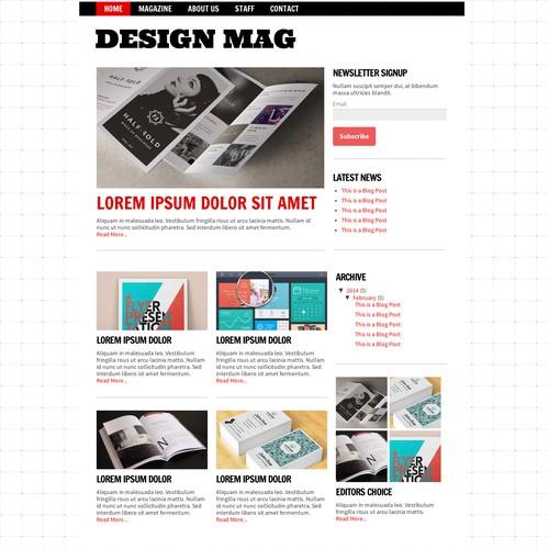 Diseño finalista de littlerobotwebdesign