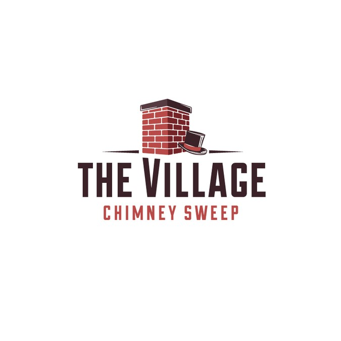 chimney sweep needs clean new look logo design contest