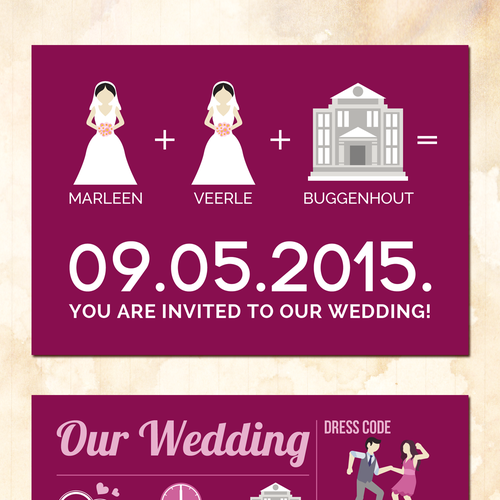 Wedding Invitation Infographic