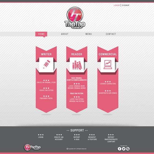 Runner-up design by the designist