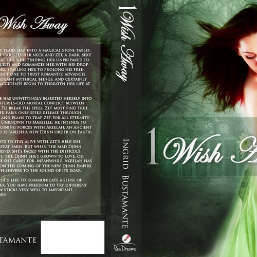 Book Cover for Paranormal Romance Novel | Buchcover Wettbewerb