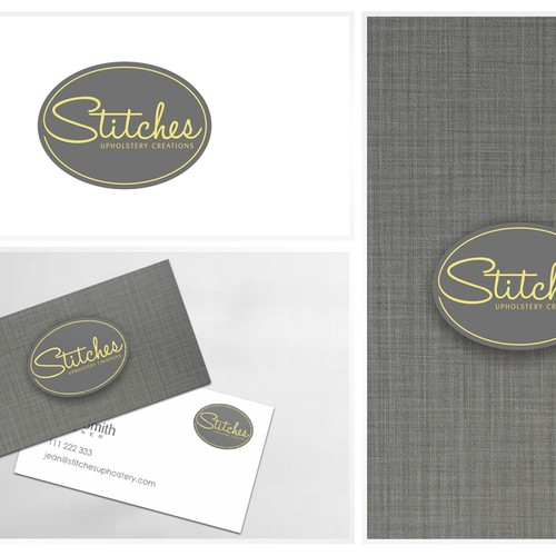 Create A Fun Yet Sophisticated Logo For Stitches Upholstery