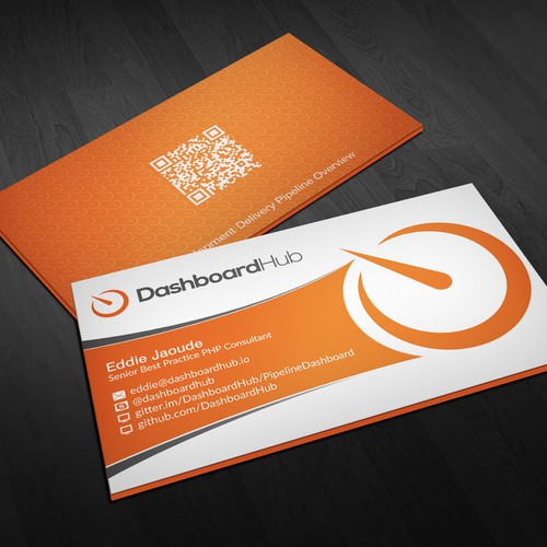 Create a modern business card and postcard for dashboardhub in tech runner up design by upwork reheart Gallery
