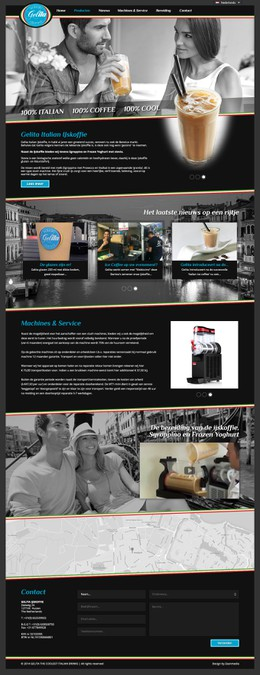 Winnend ontwerp van Automex.website