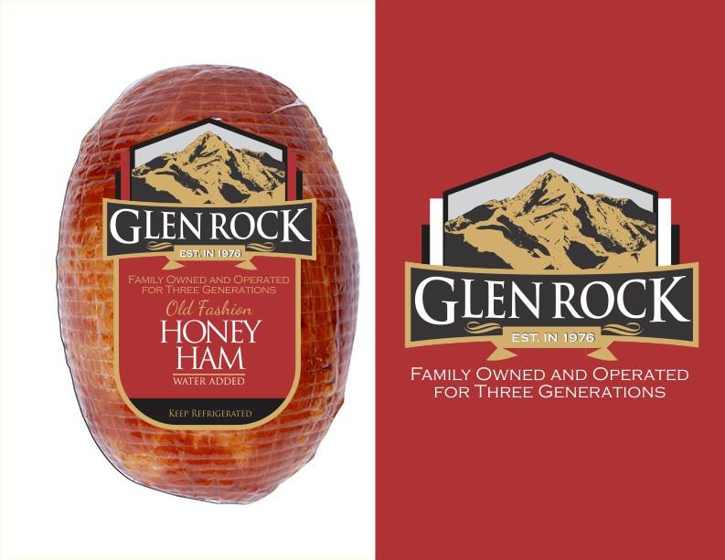 Create an elegant new logo for Glen Rock, a deli meats manufacturer