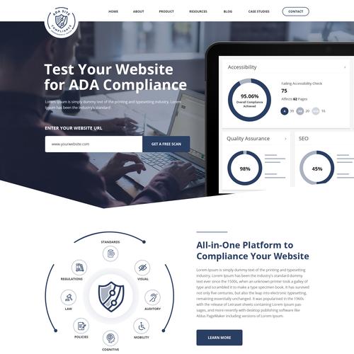 Diseño finalista de SAI Web