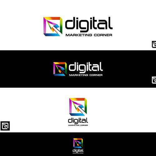 Modern, Colourful Logo design for Digital Marketing Corner ...
