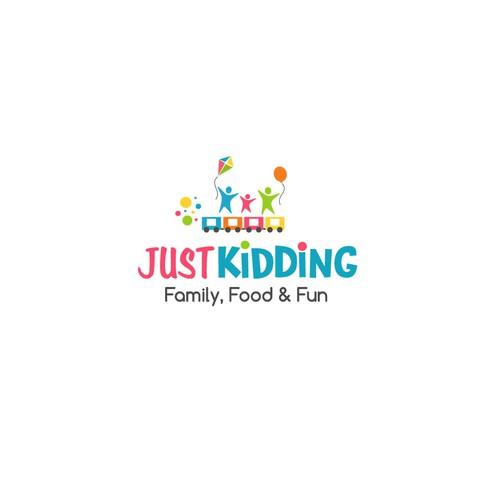 Design A Cool Logo For The New Just Kidding Amusement Park Logo Design Contest 99designs