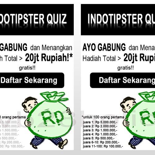 Runner-up design by cumabelajar