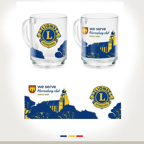 Runner-up design by Lucky Pen