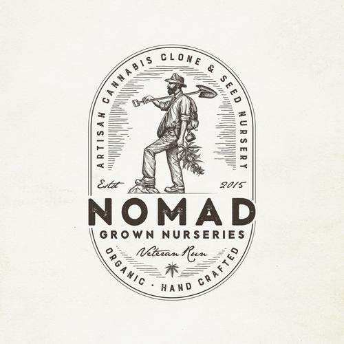 Veteran Run Medical Cannabis Company Needs Powerful Vintage Logo Design Design by Yokaona