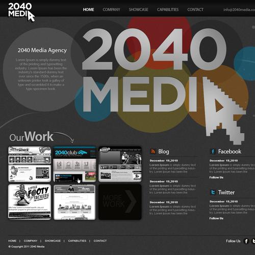 Diseño finalista de Web2byte