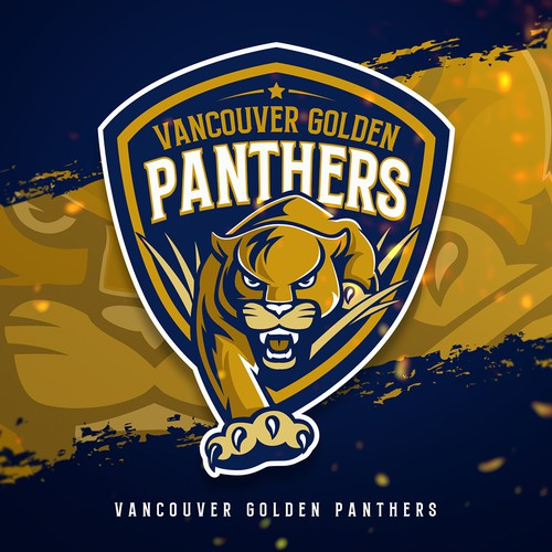 4be4293115454 Vancouver Golden Panthers | Logo design contest