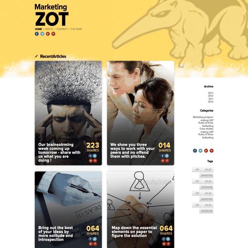 Runner-up design by stelz
