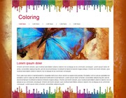 Web page design by judiart