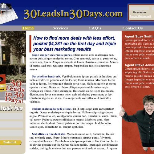 Meilleur design de webfadds