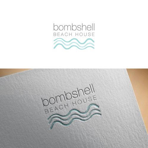 Beach House Logo Concurso Design De