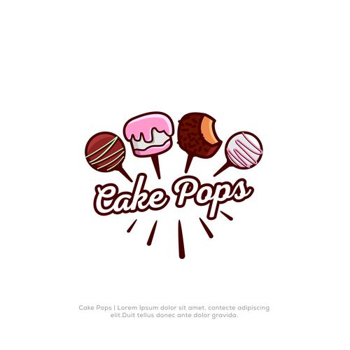 cake pop logos logo design contest