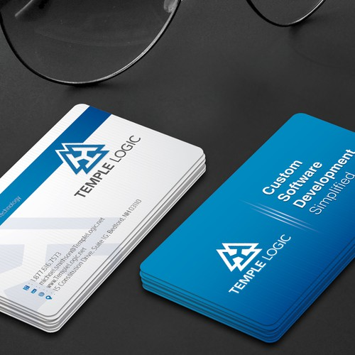 Business Card For Software Company Business Card Contest 99designs