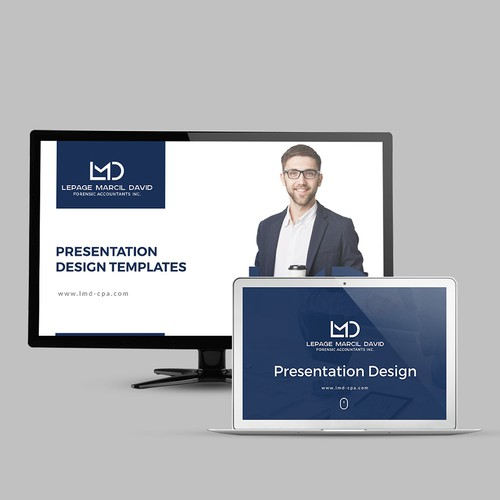 Le Page Template   Powerpoint Template Lepage Marcil David Forensic Accountants Inc