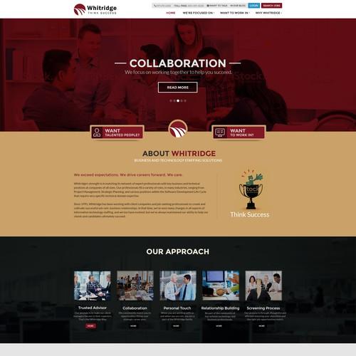 Diseño finalista de Abhijit.m webdesign