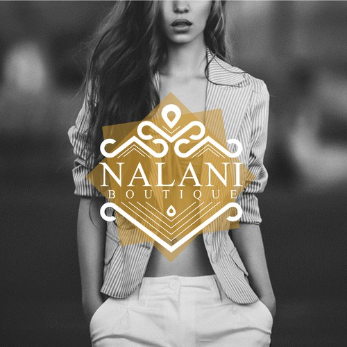Design a modern chic elegant logo for nalani boutique for Chic modern boutique