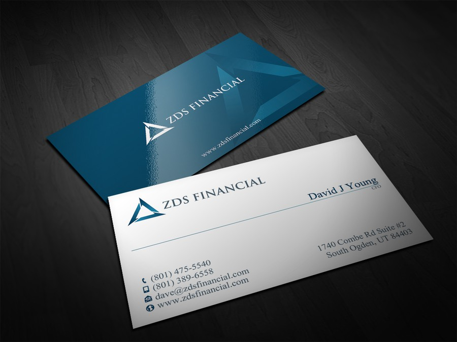 Create Financial Business Card | Business card contest