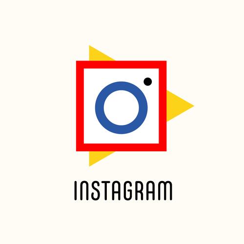 Community Contest | Reimagine a famous logo in Bauhaus style Design by dnk_