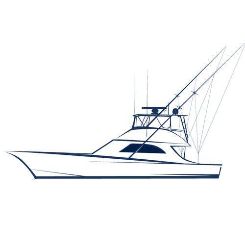 Art Line Yacht Design : Boat line art other or illustration contest